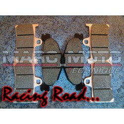 Brake pads front + rear Racing Road Tmax 2008