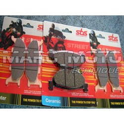 Brake pads front + back Tmax 2004/2007