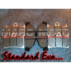 Brake pads front + rear Tmax 2008