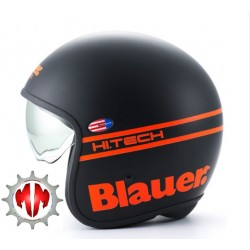 BLAUER JET PILOT NOIR ORANGE