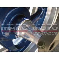 Entretoise axe roue ar Tmax 2001/2007 aluminium brut