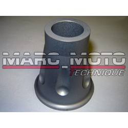 Brace back wheel axle aluminium anodized gray Tmax 2001/2007