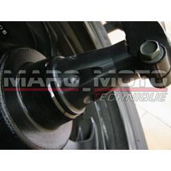 Entretoise axe roue ar Tmax 2001/2007 anodise noir